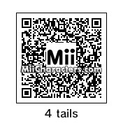 QR Code for Nine Tail Naruto by samuel paul tr