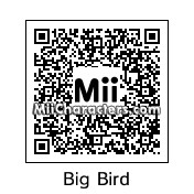 QR Code for Big Bird by e