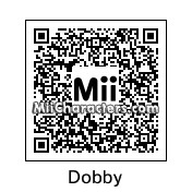 QR Code for Dobby The House Elf by C.H.U.D.