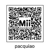 QR Code for Manny Pacquiao by aufuxs