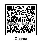 QR Code for Barack Obama by Superz