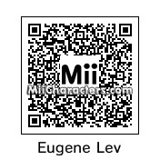 QR Code for Eugene Levy by Ali