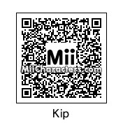 QR Code for Kip Dynamite by Mii