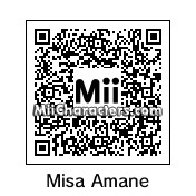 QR Code for Misa Amane by L Lawliet Luvr