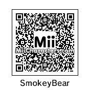 QR Code for Smokey The Bear by THE MOMMY