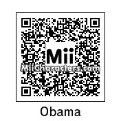 QR Code for Barack Obama by duncanzhang