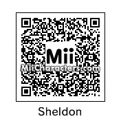 QR Code for Sheldon Cooper by caddypaddy