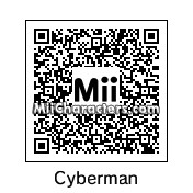 QR Code for Cyberman by zoxi1