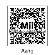 QR Code for Aang by Toon and Anime