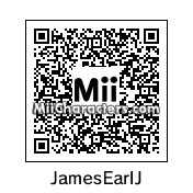 QR Code for James Earl Jones by Andy Anonymous