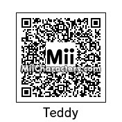 QR Code for Teddy by Ness and Sonic