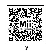 QR Code for Ty the Tasmanian Tiger by Ness and Sonic