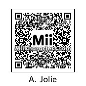QR Code for Angelina Jolie by BonJohn