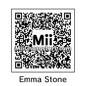 QR Code for Emma Stone by BonJohn