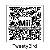QR Code for Tweety Bird by Carolyn