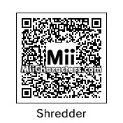 QR Code for Shredder