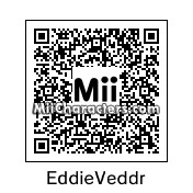 QR Code for Eddie Vedder by Andy Anonymous