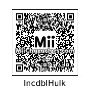 QR Code for The Incredible Hulk by C Thunder