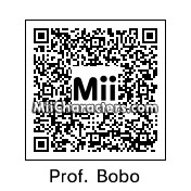 QR Code for Professor Bobo