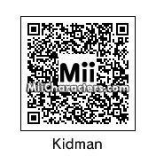 QR Code for Nicole Kidman by Ali