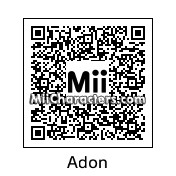 QR Code for Adon by Eben Frostey