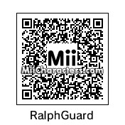 QR Code for Ralph T. Guard by tangela24