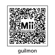 QR Code for Guilmon by matthew123