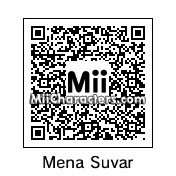 QR Code for Mena Suvari by Ali