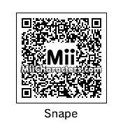 QR Code for Professor Severus Snape by MiiBrowser