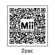 QR Code for Tupac Shakur by Chris