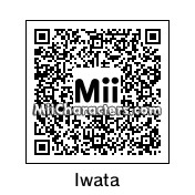 QR Code for Iwata by Adamsalah