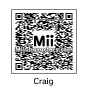 QR Code for Craig by Despicable Mii