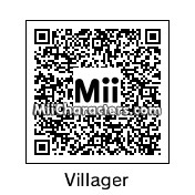QR Code for Male Villager by Eben Frostey