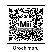 QR Code for Orochimaru by valastrasz