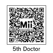 QR Code for The Doctor (5th) by Andy Anonymous
