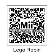 QR Code for Lego Robin by MiiBrowser