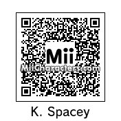 QR Code for Kevin Spacey by Andy Anonymous