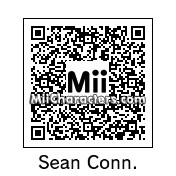 QR Code for Sean Connery by Andy Anonymous