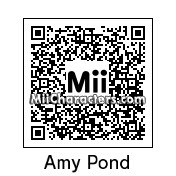 QR Code for Amelia (Amy) Pond by meganbpyle