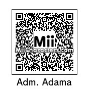 QR Code for Adm. William Adama by Andy Anonymous