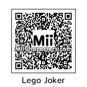 QR Code for Lego Joker by MiiBrowser