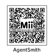 QR Code for Agent Smith by B1LL