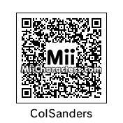 QR Code for Colonel Sanders by Ax