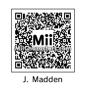 QR Code for John Madden by Jesse