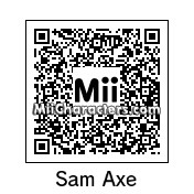 QR Code for Sam Axe by Andy Anonymous