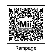 "QR Code for Quinton ""Rampage"" Jackson by Tocci"