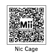 QR Code for Nicholas Cage by Andy Anonymous
