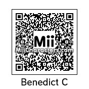 QR Code for Benedict Cumberbatch by Andy Anonymous