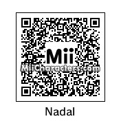 QR Code for Rafael Nadal by Salva