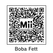 QR Code for Boba Fett by BrainWolf